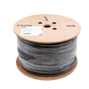 Grey SFTP Cat 5e for Indoor pictures & photos