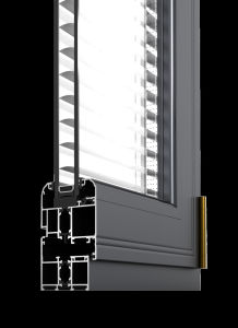 80 Series Aluminium Sliding Window with Mosquito Net/Fly Screen pictures & photos