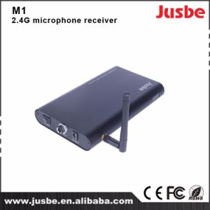Cheap Price 2.4G Classroom Use Wireless Microphone Receiver M1 pictures & photos