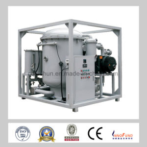 Black Yellowish Transformer Oil Purifier-Zja-200 pictures & photos