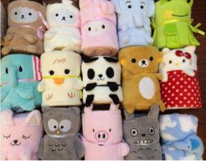 Wholesale Cute Cartoon Animal Plush Blanket Ca-01871A pictures & photos
