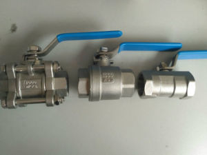 2PC Float Ss304/Ss316 Ball Valve for Industry Use pictures & photos