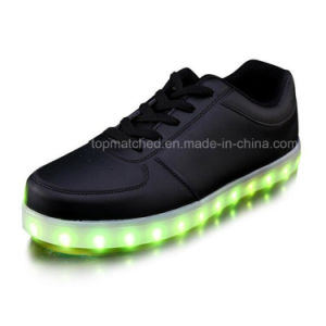 High Quality Unisex LED Running Shoes pictures & photos