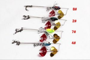 Hy New Style Three Arms Plastic Fishing Lures pictures & photos