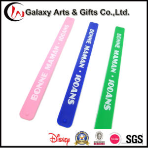 Custom Screen Printed Silicone Slap Bracelet/Silicone Slap Wristband/Slap Wrap pictures & photos