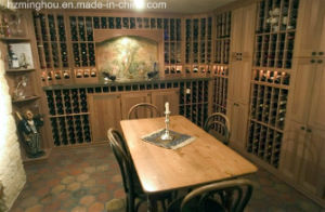 Customize Luxury Wooden Wine Cellar for Home Furniture pictures & photos
