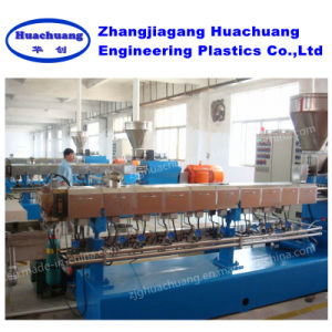 Parallel Twin-Screw Extrusion for Making PA Plastic Granules pictures & photos