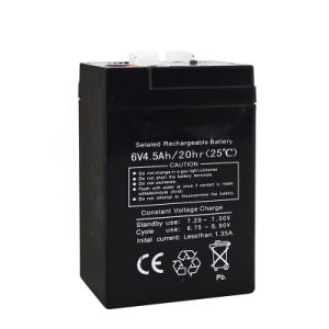 6V 4.5ah Rechargeable Battery for Toys Car Use pictures & photos
