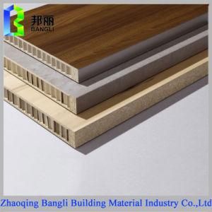 Aluminum Wood Grain Stone Grain Honeycomb Panel for Decoration Using pictures & photos
