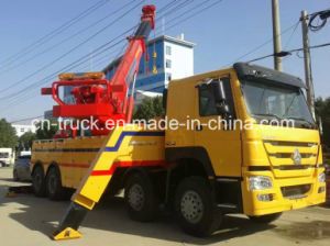 China Good Quality HOWO 8X4 50ton Breakdown Truck pictures & photos