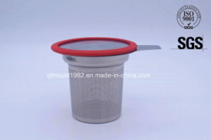 High Quality Stainless Steel Mesh Tea Strainer Tea Infuser with Handle pictures & photos