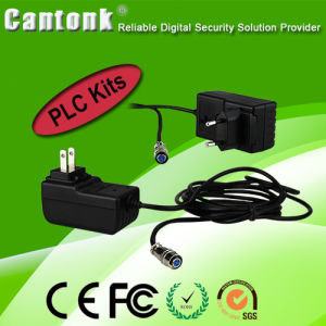 Cheapest 4 Channel H. 264 PLC NVR & IP Camera Kits pictures & photos