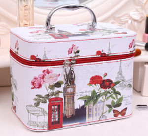 2017 New Style Large Size Makeup Train Case, Makeup Bag, Cosmetic Bag (BDY-1706010) pictures & photos