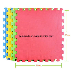 Interlocking Heavy Duty EVA Foam Floor Puzzle Work Gym Mat Training Teakwondo Gym Mat pictures & photos