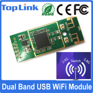 Rt5572 Dual Band 2.4G/5g 802.11A/B/G/N WiFi Standard Embedded USB 2.0 Wireless Module with Ce FCC pictures & photos