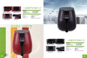Digital Control electric Deep Air Fryer (B199) pictures & photos