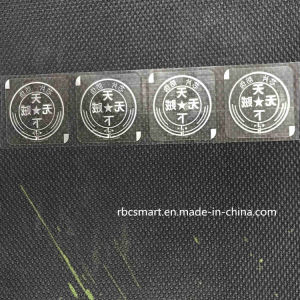 Anti-Counterfeit RFID Sticker Label Tamper Evident Security Smart Chip Tag/Seal pictures & photos