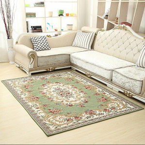 Living Room Carpet with Big Size Flowers Partern Rugs