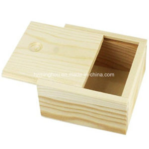 Mini Wood Box Crafts Jewelry Box for Gift Weddings pictures & photos