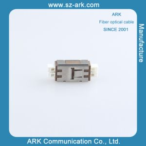 Mu Duplex Fiber Optic Adapter pictures & photos