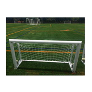 2X1m Cheap Portable Mini Practice Aluminum Soccer Goal with Wheels pictures & photos