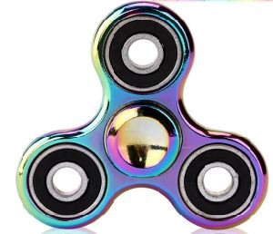 Random Mix Colors Wholesale Hand Colorful EDC Metal Zinc Alloy Fidget Spinner for Children Adult Gifts Tri-Spinner Fidget Toy pictures & photos