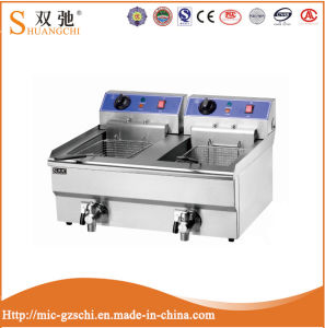 Hot Sale (8L+8L) Electric Fryer with Stainess Steel pictures & photos