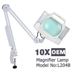 L204b Desk Portable 10X Magnifier Cosmetic Lamp with Wholesale Price pictures & photos