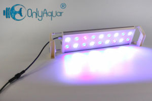 28W Ce RoHS Approved Aquarium LED Light for 57-70cm Fish Tank