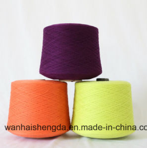 Nm 2/60 Dyed 100% Cashmere Yarn for Knitting and Weaving pictures & photos