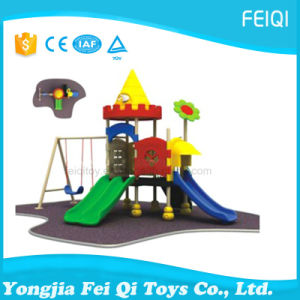 Most Popular Plastic Outdoor Playground Kids Made in China Castle Series (FQ-YQ08801) pictures & photos