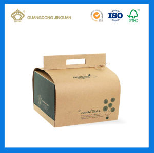 Eco-Friendly Craft Paper Box with Handle (Customized Design) pictures & photos
