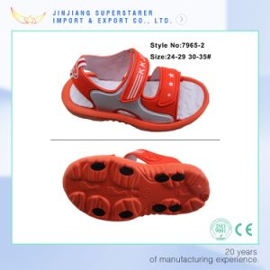 Lovely EVA Flat Kids Sandals with PU Upper pictures & photos