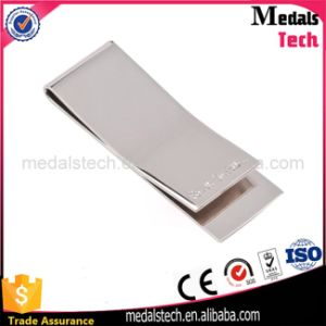 Factory Wholesale Custom Cheap Stainless Steel Blank Money Clip pictures & photos