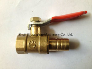 Red Handle Mini Ball Valve pictures & photos