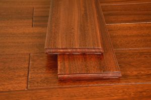 Brown Walnut Solid Wood Flooring pictures & photos