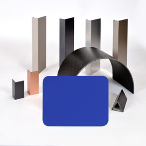 Aluis Exterior 6mm Aluminium Composite Panel-0.30mm Aluminium Skin Thickness of FEVE High Glossiness Bright Blue pictures & photos