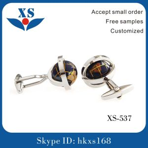 Gold Plated Custom Brass Cufflink for Man pictures & photos
