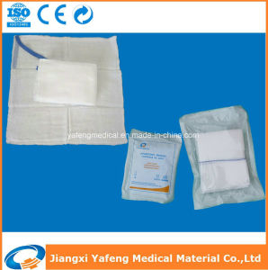 Non Sterile and Eo Sterile Lap Sponge 45cm X 37cmx4ply/6ply with X-ray Detectable pictures & photos