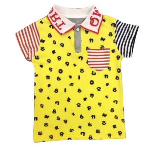 Fashion Short Sleeve Kids Wear Summer Boys T-Shirt pictures & photos