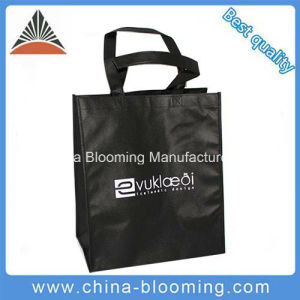 Black Hand Non Woven Shopping Package Reusable Bag pictures & photos