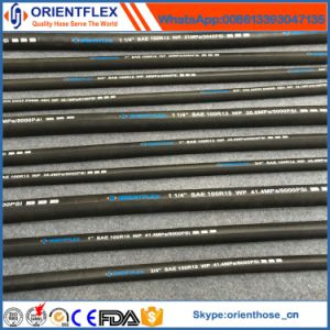 High Pressure Multi Spiral Rubber Hydraulic Hose (SAE 100r13/R15) pictures & photos