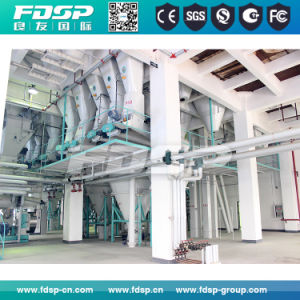 Automatic Aqua Feed Mill Machine/Fish Feed Pellet Production Line Price pictures & photos