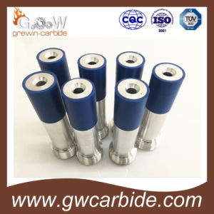 Carbide Spray Liner/Nozzle with Steel and Aluminum Jacket and Threads pictures & photos