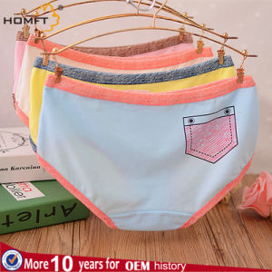 Hot Sale Ladies Underwer Mature Women Breathable Pants pictures & photos