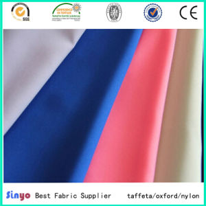 Light Weight PU Coated 100% Polyester 190t Taffeta Fabric for Jacket Garment Used pictures & photos