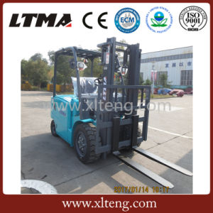 Ltma 3 Ton Electric Powered Forklift Truck Price pictures & photos