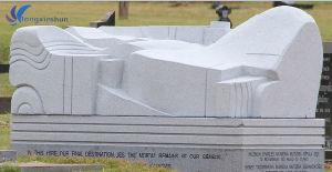 European Customized Handmade Carving G603 Grey Granite Sculpture pictures & photos