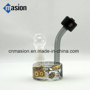 Colored Design Mini Glass Smoking Set Smoking Pipe (ZY003) pictures & photos