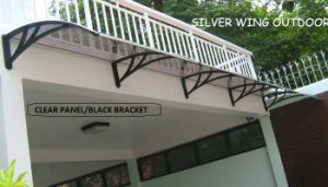 DIY Polycarbonate Plastic Awning/Sunshade/Canopy for Doors and Windows (YY-C) pictures & photos